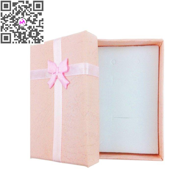 6Pcs/lot Cute Pink Color Storage Box Jewelry Packaging Display Pill Case Organizer Necklace Earrings Ring Box Home Decor Gift