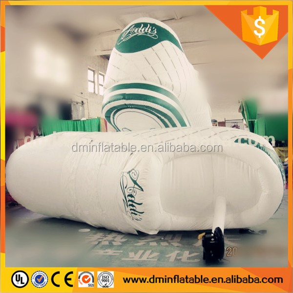 2016 giant advertising replicas inflatable shoes