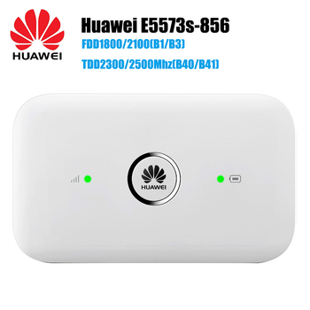 Unlocked Huawei E5573 E5573s-856 Cat4 150mbps 4g Lte Fdd 1800/2100mhz Tdd  2500/2600mhz Wireless Router 3g Mobile Wifi Hotspot - Buy Wifi Hotspot