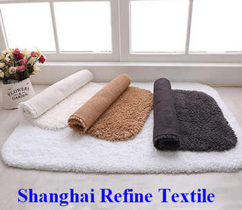 Washable bathroom bath rug bath mat for hotel bathroom Washable bathroom carpet cut to fit