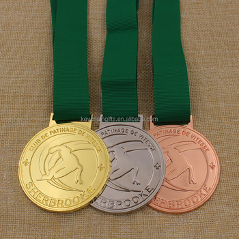High quality custom metal skiing medal manufacturer