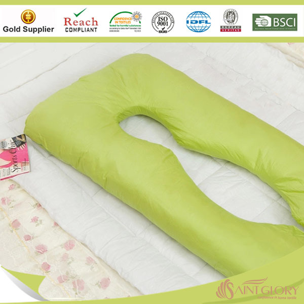 U vormige Hoge Kwaliteit Polyester Vullen Zwangerschap Kussen kussen product ID 60083358464