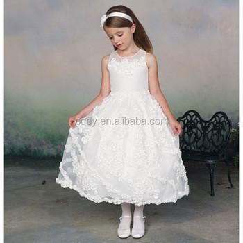 ef69b181fa11 2015 white flower girls dresses for kids princess girls dress for birthday  party children long frocks