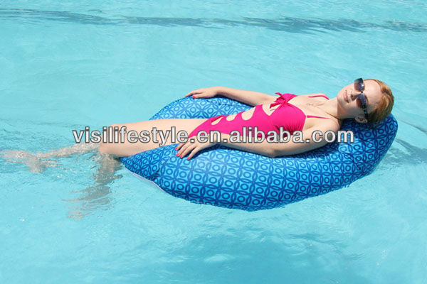 floating swimming pool floating bean bag chair buy pool floating pool bean bag floating bean. Black Bedroom Furniture Sets. Home Design Ideas
