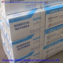 CE FDA ISO Approved silk surgical suture