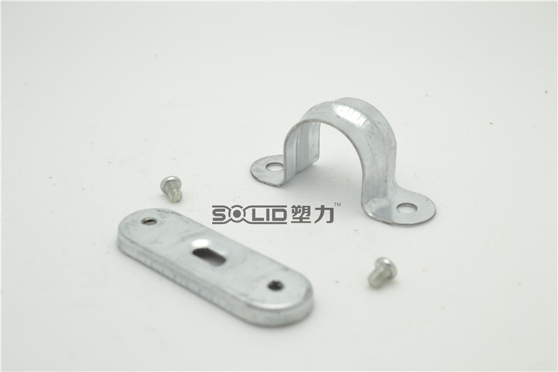 20mm Galvanized Steel Exhaust Pipe Clamp Saddles For Sale