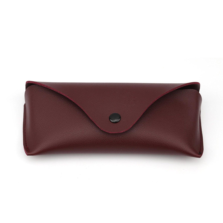 Jili Online Portable Handmade Wood Grain Sunglasses Hard Protect Carry Storage Case