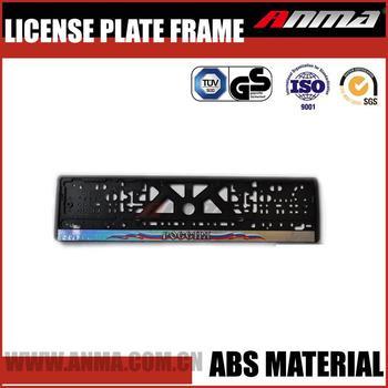 European Scrolling Led License Plate Frame - Buy License Plate Frame ...