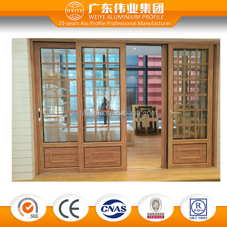 aluminium glass sliding door garden security doors