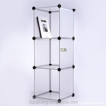 3 Cubes Plastic Closet Storage Cabinet - Buy High Quality Plastic Closet  Storage Cabinet,Decorative Storage Cubes,Wire Storage Cube Sets Product on