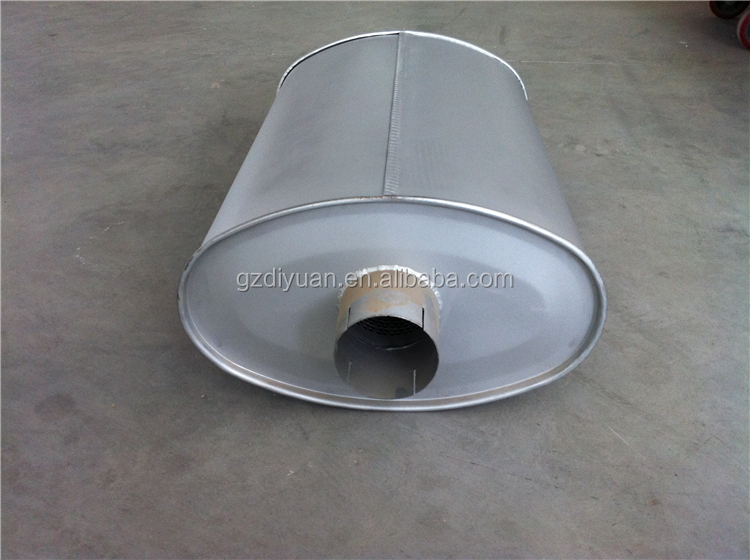 Sany exhaust main muffler for japanese truck