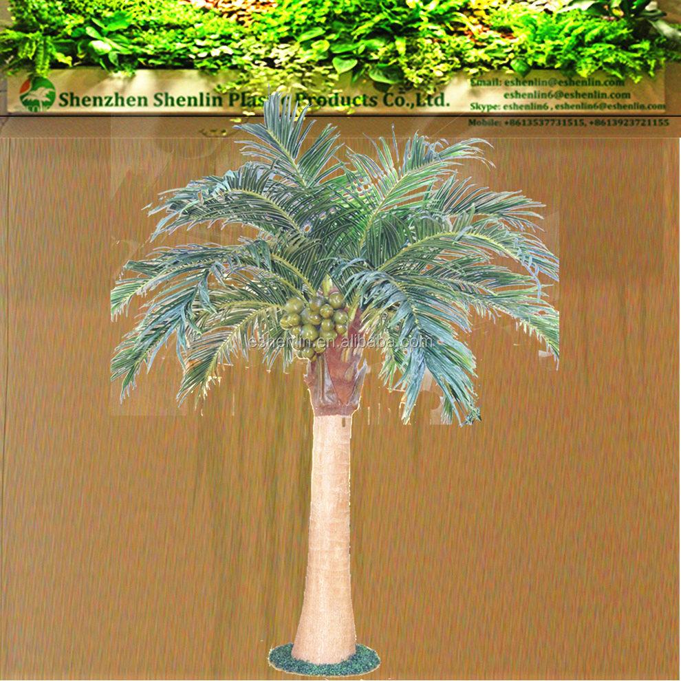 faux artificielle coconut tree en plastique faux arbre et plantes faux arbres fleurs. Black Bedroom Furniture Sets. Home Design Ideas