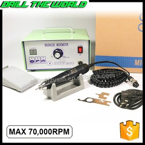 Professional brushless micro motor jewelry polishing hand gemstone tool grinding machine