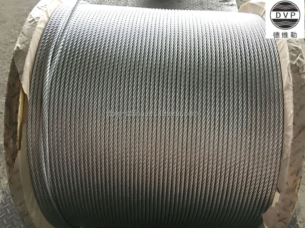 10mm 7x19 galvanized steel wire rope