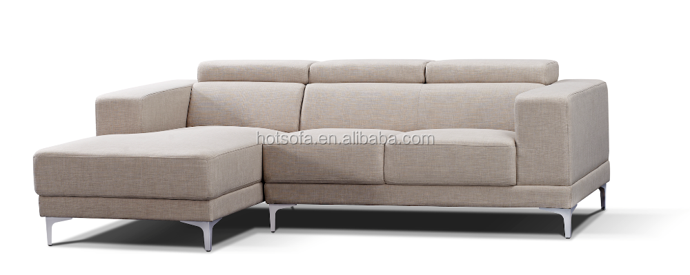 Modern Leather Black Sofa L Shaped In Furniture