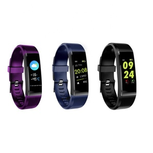 2019 Amazoon Fitness Tracker Waterproof ID115 for Android IOS