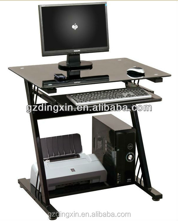Blue Glass Computer Desk, Blue Glass Computer Desk Suppliers And  Manufacturers At Alibaba.com