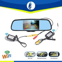 5 inch ambarella wireless wifi GPS bluetooth small wifi rear view camera for android system