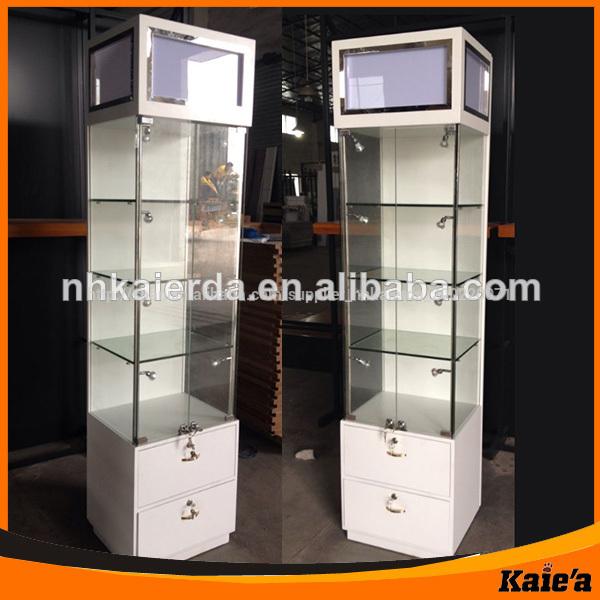 Vidrio moderno dise o de escaparate de la exhibici n - Vitrinas de madera y vidrio ...