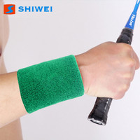 SHIWEI-618#Best selling elastic cotton wrist sleeve wrist band support
