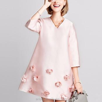 8a1e58a8ced Anly winter new ladies fashion dresses long sleeve midi women dress ...