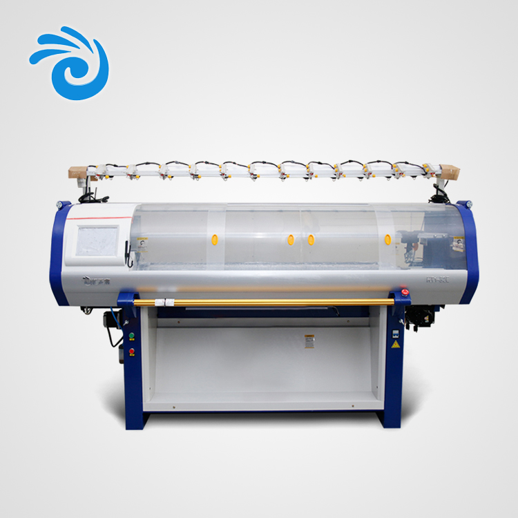 Multi gauge full automatic 12G 52inch flat knitting machine for sweater