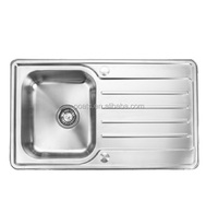stainless steel kitchen wash basin