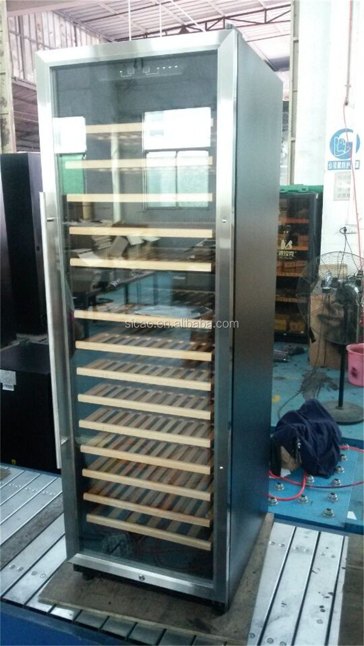 Restaurant Kitchen Refrigerator compressor big upright restaurant kitchen fridge glass commercial