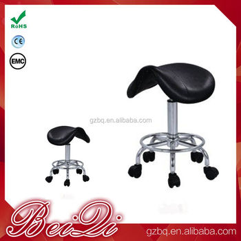 Black Salon Equipment Hairstylist Cutting Stool Without Backrest Fashionable Master Chair Whole