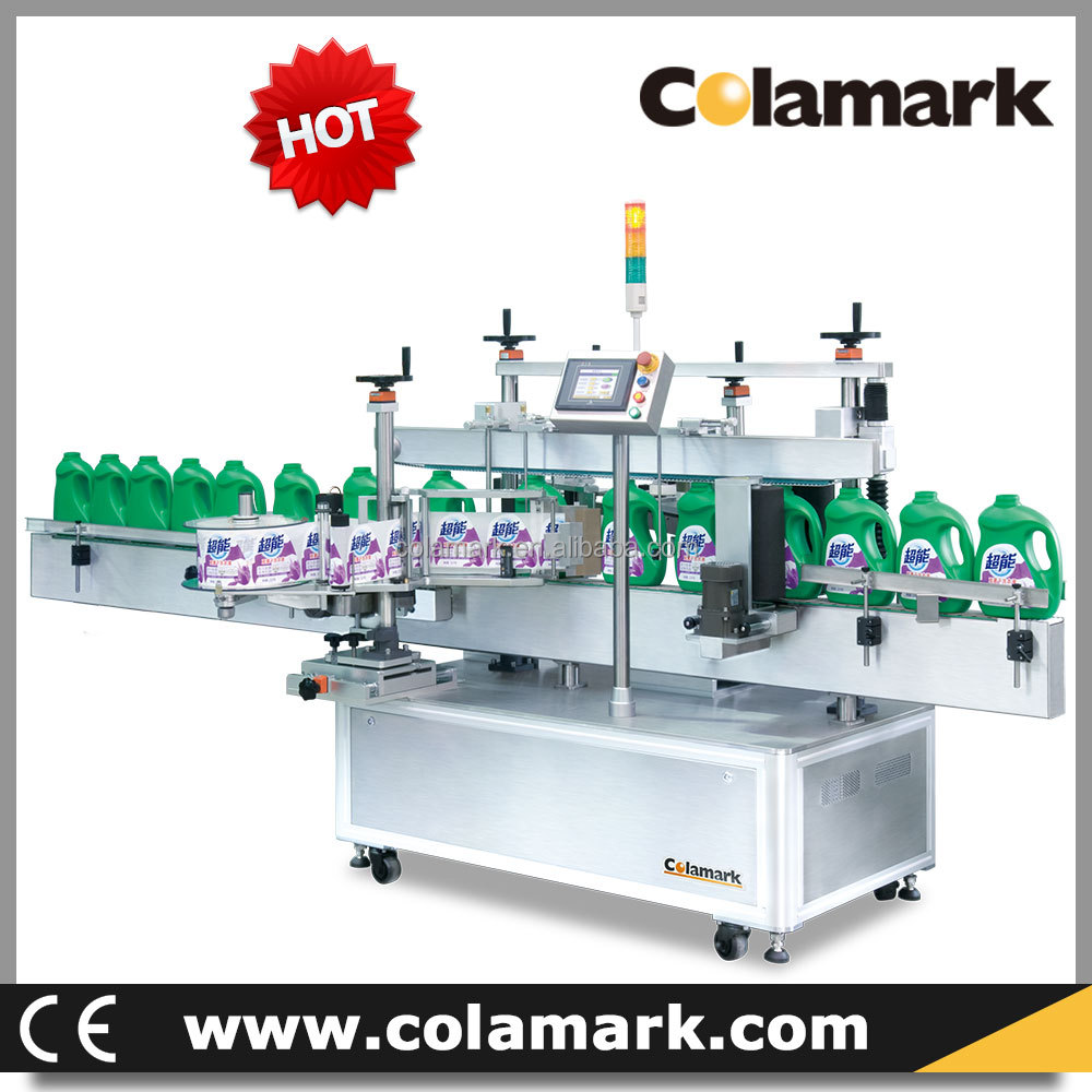 Automatic Bottle Front and Back Labeling Machine