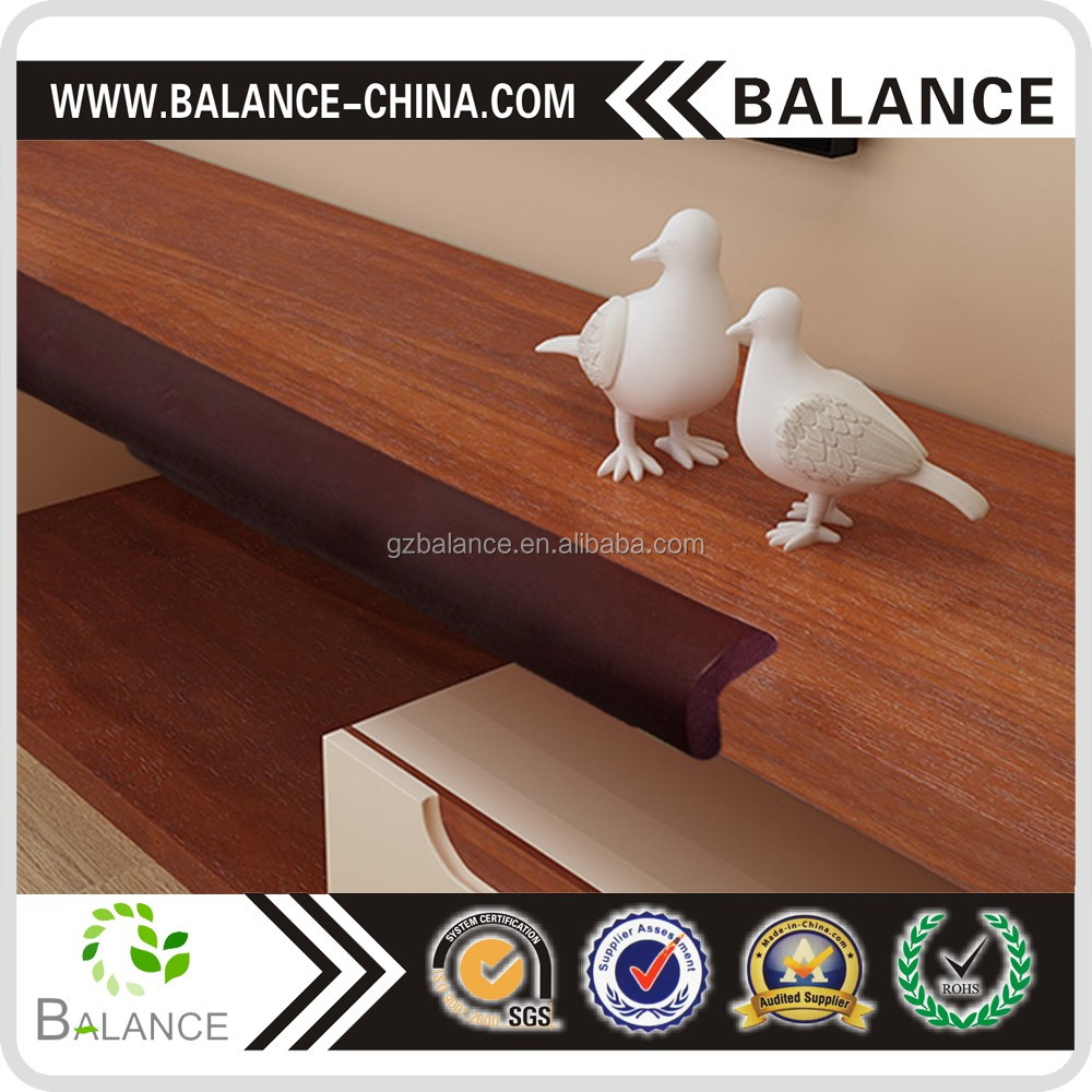 Wholesales glass edge protection,table corner protection,table rubber edging