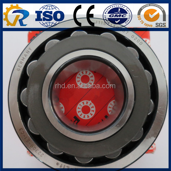 chrome steel 45*100*36mm Spherical Roller Bearing 22309 CA/CC/MB/W33