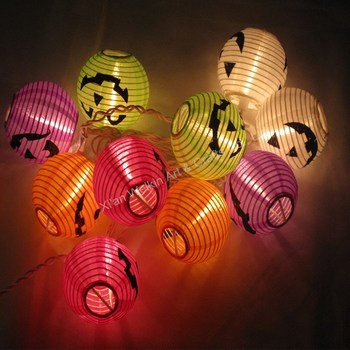 Paper Lantern Led Lights Battery Operated