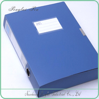 A4 size PP document boxes/ plastic file box folder or office