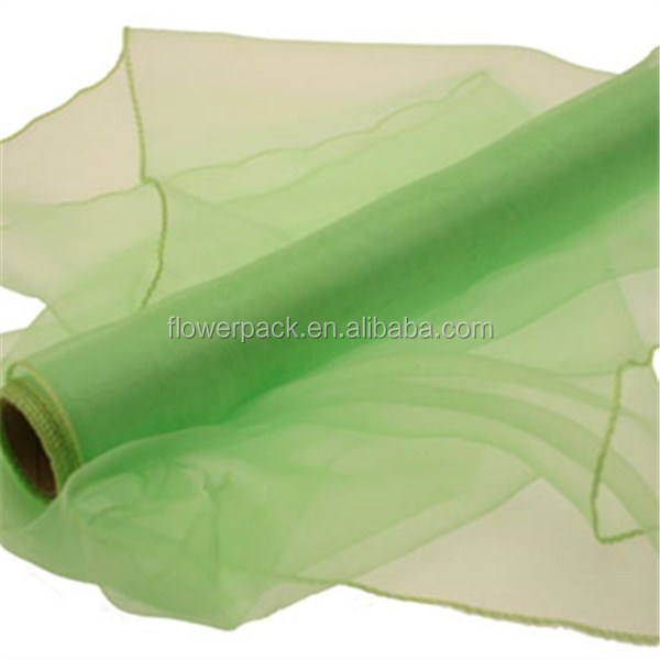 Polyester Organza For Decoration Fabric/Wedding