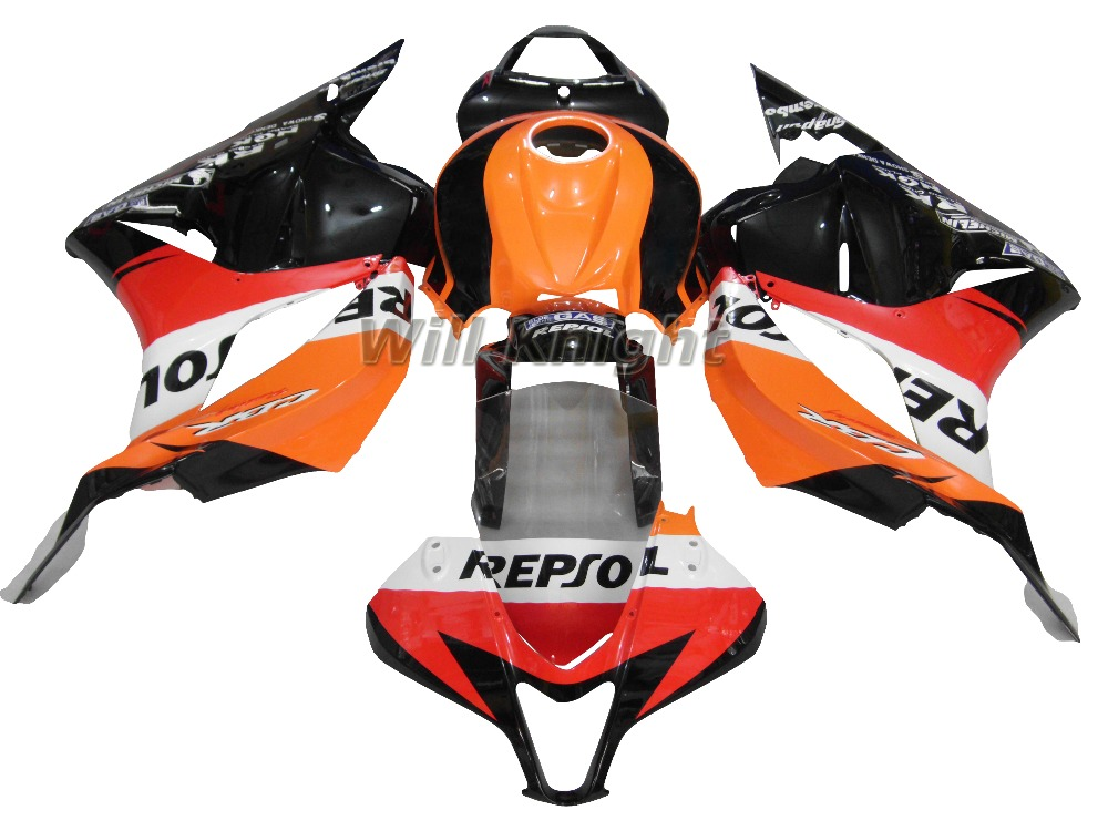 For Honda CBR600RR F5 2009 2010 2011 2012 Injection Body Fairing Kit Repsol