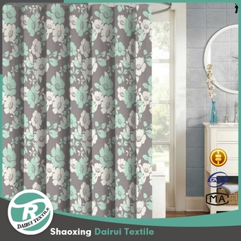 Good Price Custom European Kids Bathroom Cartoon Printed Shower Curtain