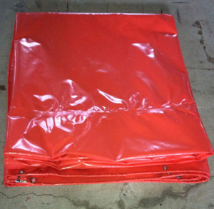China factory 610 gsmpvccoated fabric polyestertarpaulin
