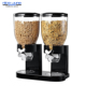 Double and Single bulk Snack cereal coffee Jelly bean candy dispenser