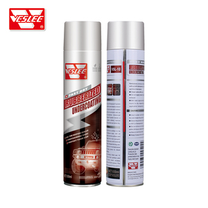650ml Automotive rubberized undercoating car chassis protection spray paint  undercoat