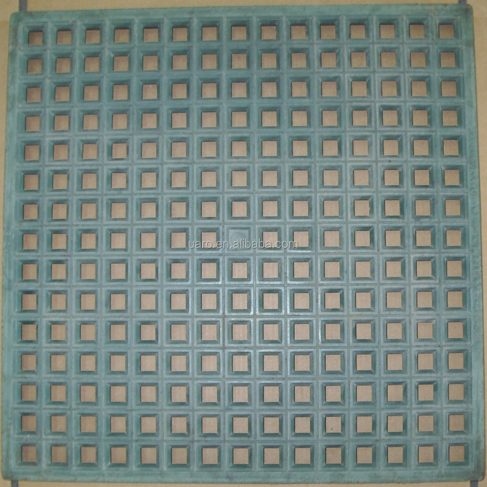 Paper Mount Plastic Mosaic Tile Grid For 10x10mm