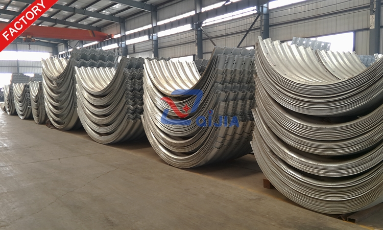 12 years professional factory directly sale cheap price galvanized corrugated steel culvert pipe