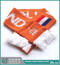 Soccer Fan Club Scarf for Customized Designs