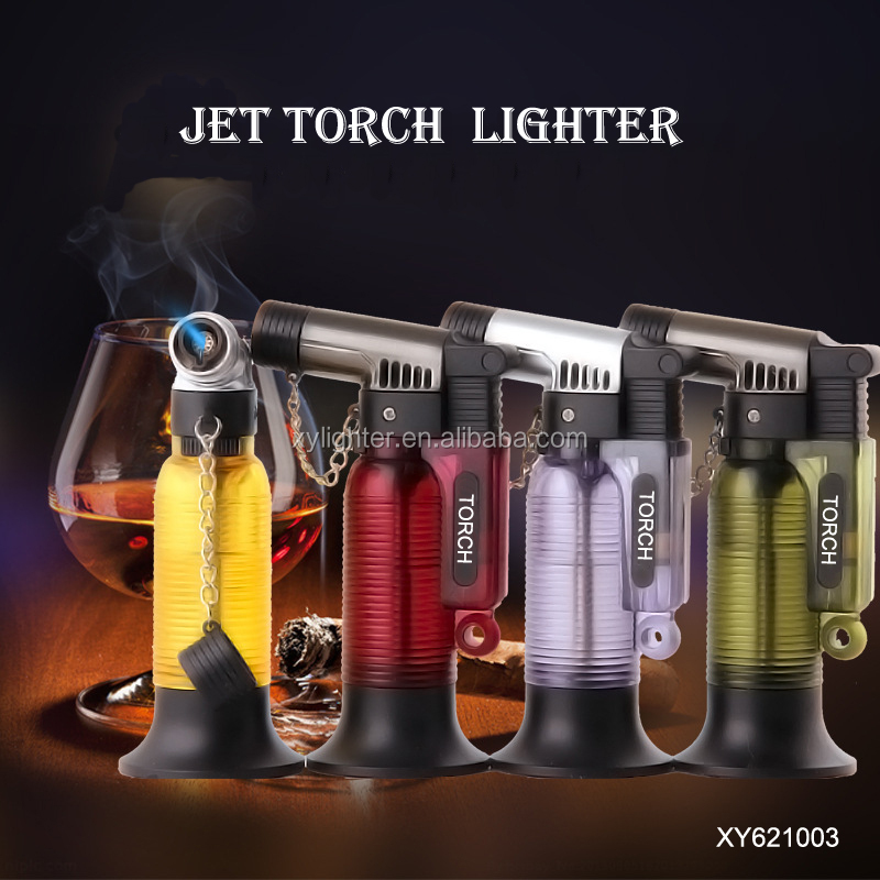 Xy621003 Cigarette Refillable Butane Gas Jet Torch Lighter For Cigar - Buy  Gas Lighter,Cigar Lighter,Jet Torch Lighter Product on Alibaba com