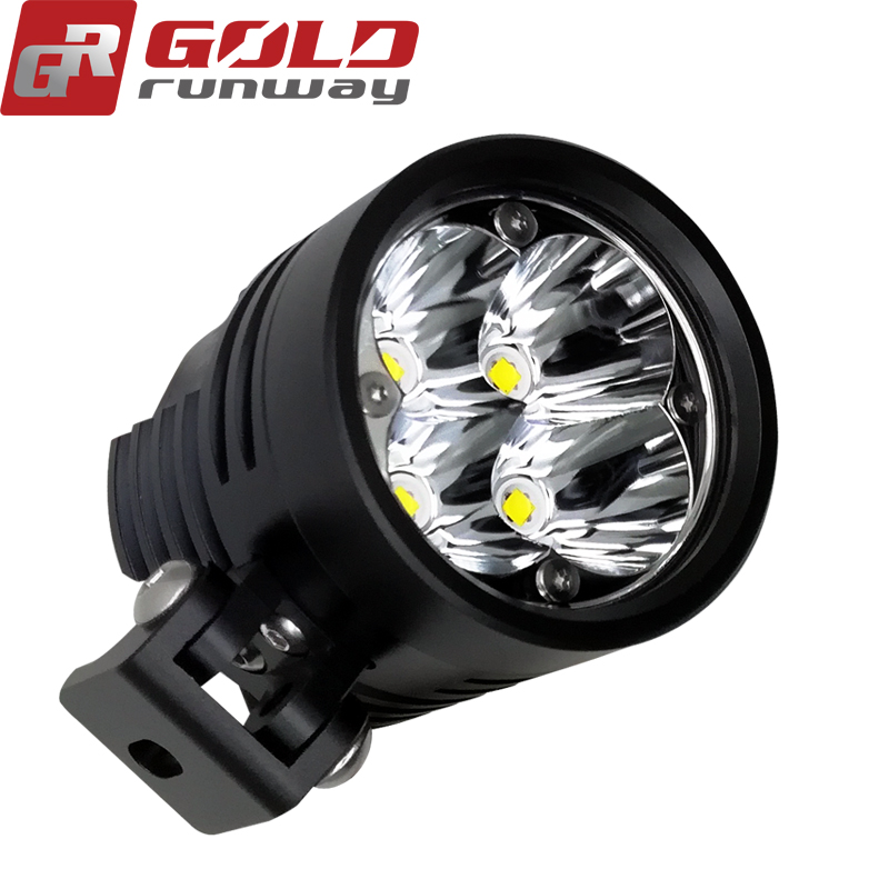 Super bright hot sale parts motorcycle work lights led strobe fog lights