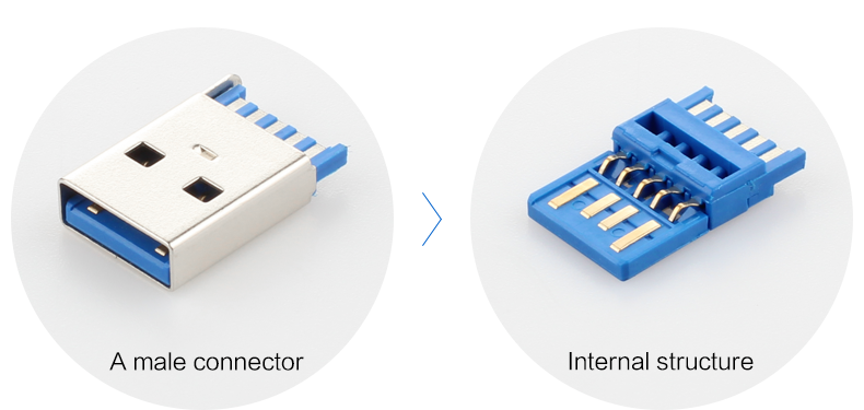 USB 3.0 Type A naar Type C Kabel voor Amazon Top Verkoper Gevlochten/Android mobiele telefoon opladen kabel/ meerdere kleur