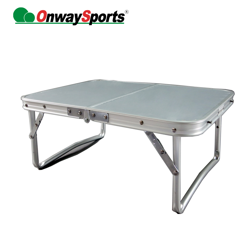 Outdoor picnic party dining folding aluminum camping table