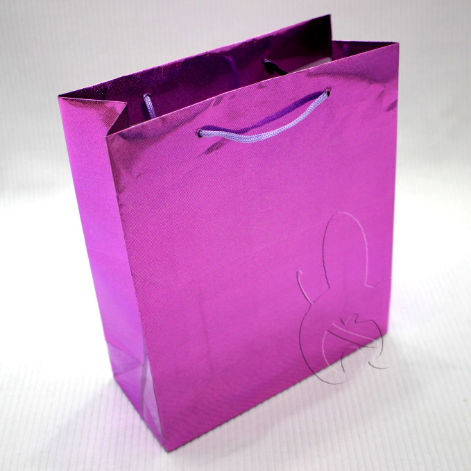 Wholesale high quality gift neon paper bag for packaging