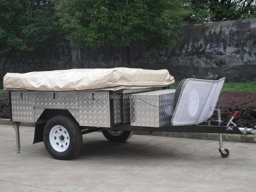 12ft Remolque Tienda,Off Road Aluminio Caja De Viaje Remolque - Buy ...
