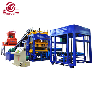 Germany technology QT5-15 Automatic Zenith concrete block making machine made in China